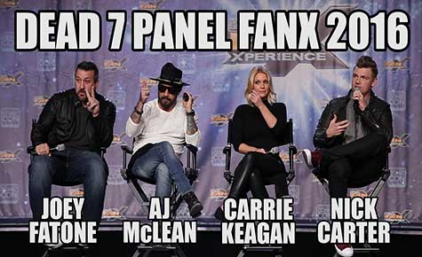 dead 7 panel bij salt lake comic con fanx 2016