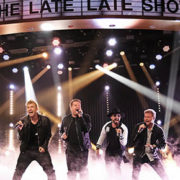 backstreet boys at james corden late late show