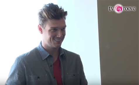 nick carter bij tv groove japan